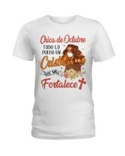 CHICA DE OCTUBRE Ladies T-Shirt thumbnail