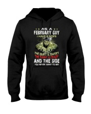 H - FEBRUARY GUY Hooded Sweatshirt thumbnail