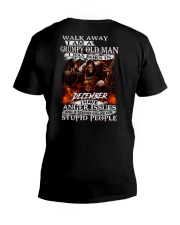 GRUMPY OLD MAN DECEEMBER V-Neck T-Shirt thumbnail