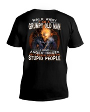 GRUMPY OLD MAN V-Neck T-Shirt thumbnail