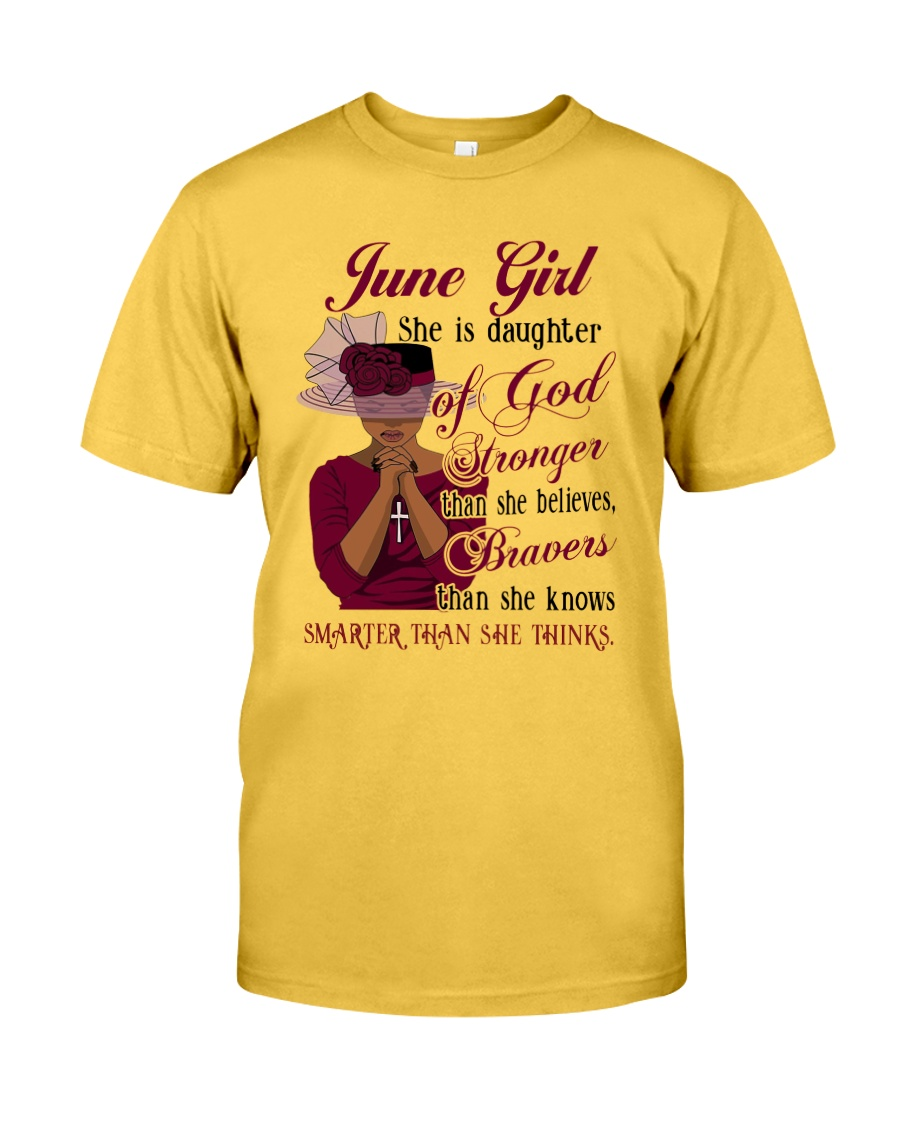 June Girl God Classic T-Shirt