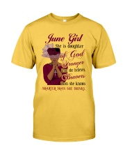 June Girl God Classic T-Shirt front