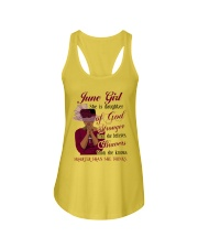 June Girl God Ladies Flowy Tank thumbnail