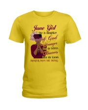 June Girl God Ladies T-Shirt thumbnail