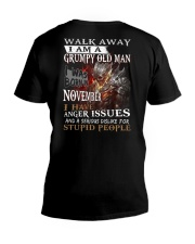 H - GRUMPY OLD MAN M11 V-Neck T-Shirt thumbnail