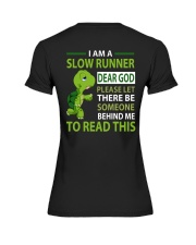 SLOW RUNNER Premium Fit Ladies Tee thumbnail