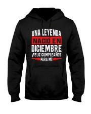 H-LEYENDA DE DICIEMBRE Hooded Sweatshirt tile