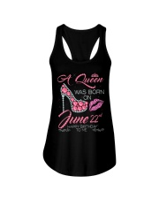 22nd JUNE Ladies Flowy Tank tile