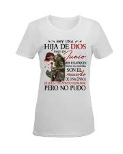 H - CHICA DE JUNIO Ladies T-Shirt women-premium-crewneck-shirt-front