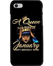 JANUARY WOMAN - L Phone Case tile