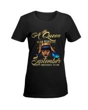 SEPTEMEBR QUEEN Ladies T-Shirt women-premium-crewneck-shirt-front