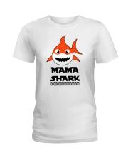 H - MAMA SHARK Ladies T-Shirt front