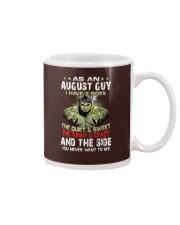 AUGUST MAN  Mug tile