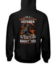 Grumpy old man October tee Cool T shirts for Men Hooded Sweatshirt thumbnail