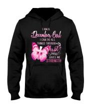 DECEMBER GIRL-D Hooded Sweatshirt tile