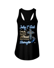 2nd july christ Ladies Flowy Tank thumbnail