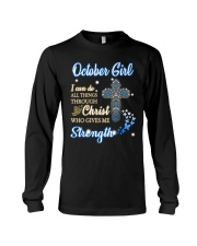 H - October Girl Long Sleeve Tee thumbnail