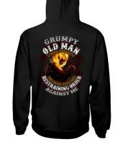 H - GRUMPY OLD MAN Hooded Sweatshirt thumbnail