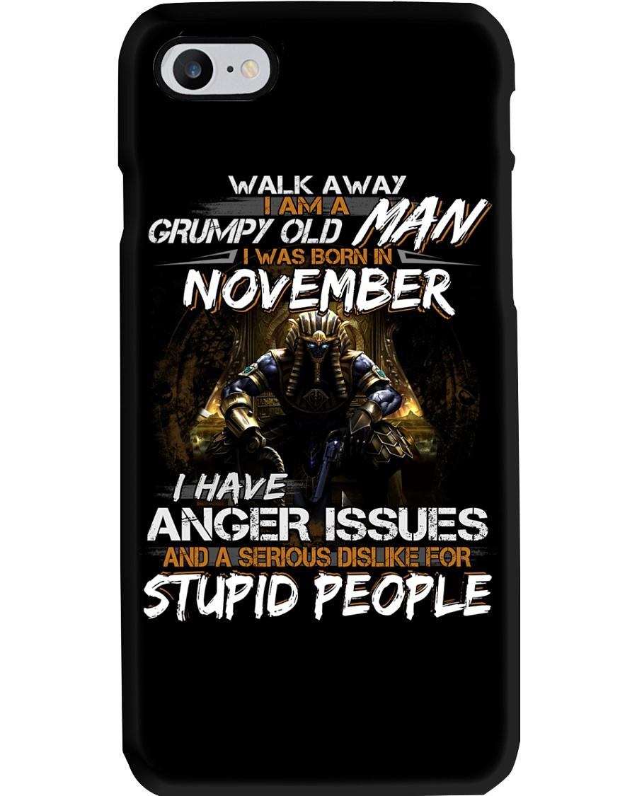 NOVEMBER MAN Phone Case