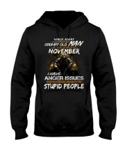 NOVEMBER MAN Hooded Sweatshirt front
