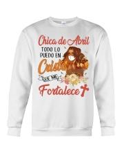 H - CHICA DE ABRIL Crewneck Sweatshirt thumbnail