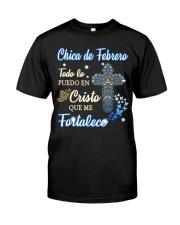 H - CHICA DE FEBRERO Classic T-Shirt thumbnail