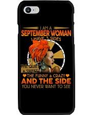 SEPTEMBER WOMAN- D Phone Case tile