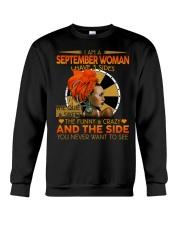 SEPTEMBER WOMAN- D Crewneck Sweatshirt tile