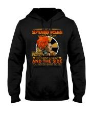 SEPTEMBER WOMAN- D Hooded Sweatshirt tile