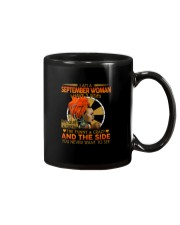 SEPTEMBER WOMAN- D Mug tile