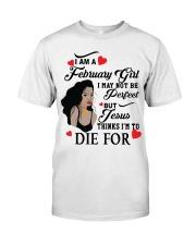 FEBRUARY GIRL Classic T-Shirt thumbnail