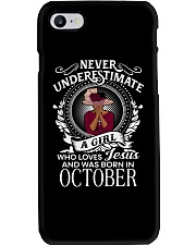 OCTOBER JESUS Phone Case thumbnail