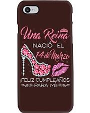 14 DE MARZO Phone Case thumbnail