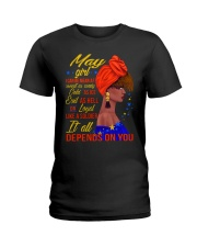 MAY GIRL Ladies T-Shirt front