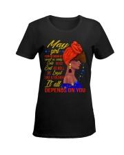 MAY GIRL Ladies T-Shirt women-premium-crewneck-shirt-front