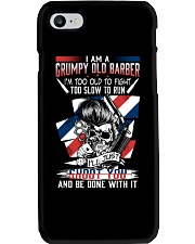 GRUMPY OLD BARBER Phone Case thumbnail