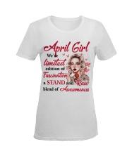 APRIL GIRL Ladies T-Shirt women-premium-crewneck-shirt-front