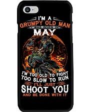 Grumpy old man May tee Cool T shirts for Men Phone Case thumbnail