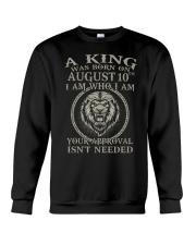 AUGUST KING 10 Crewneck Sweatshirt tile