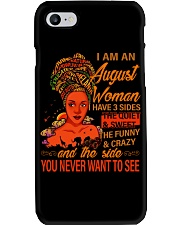 AUGUST WOMAN -D Phone Case tile