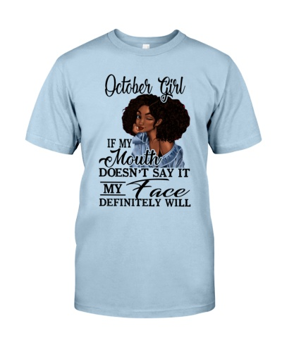OCTOBER GIRL - D