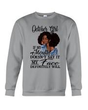 OCTOBER GIRL - D Crewneck Sweatshirt tile