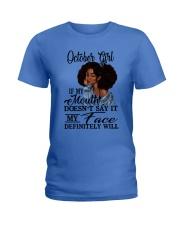 OCTOBER GIRL - D Ladies T-Shirt tile