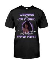H - JULY GIRL Classic T-Shirt thumbnail