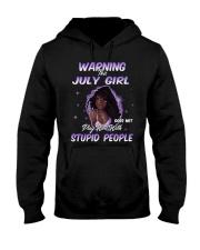 H - JULY GIRL Hooded Sweatshirt thumbnail