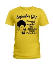 September Girl Ladies T-Shirt front