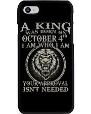 OCTOBER KING 4 Phone Case tile