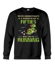 RUNNING FIFTIES Crewneck Sweatshirt thumbnail
