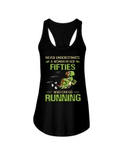 RUNNING FIFTIES Ladies Flowy Tank thumbnail