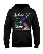 September Girl Hooded Sweatshirt thumbnail
